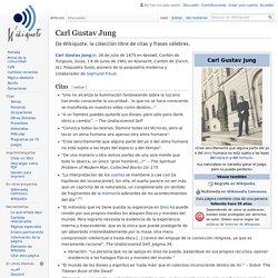 Carl Gustav Jung - Wikiquote