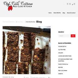 Chef Carla Contreras Paleo Breakfast Bars - Chef Carla Contreras