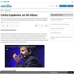 Carles Capdevila, en 10 vídeos