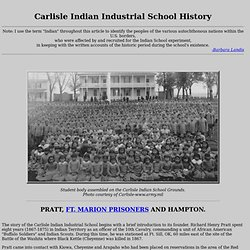 Carlisle Indian Industrial School History