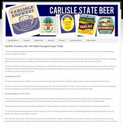 Carlisle State Brewery -