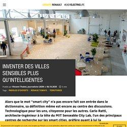 Carlo Ratti et la senseable city