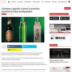 Carlsberg s'apprête à lancer la première bouteille de bière biodégradable
