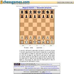 Avoiding the Berlin: Carlsen vs Grischuk (2013)