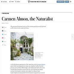Carmen Almon, the Naturalist