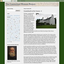 Carmichael Watson Project Blog: Carmichaels in the Census - I