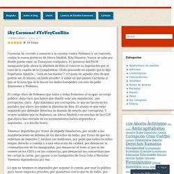¡Ay Carmona! #YoVoyConRita