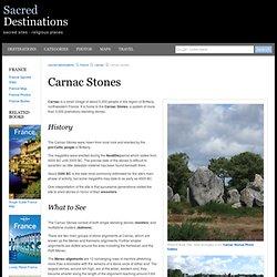 Carnac Stones - Carnac, France