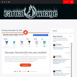 carnal0wnage.attackresearch.com