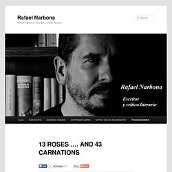 13 ROSES …. AND 43 CARNATIONS
