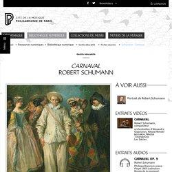 Carnaval de Robert Schumann