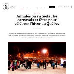 11 carnavals et fêtes pour célébrer l'hiver au Québec
