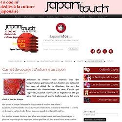 Carnet de voyage : L'Automne au Japon