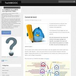 Carnet de bord : TwittMOOC