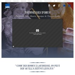 Carnet de chants - Tourneuses d'obus