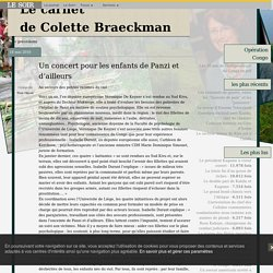 le carnet de Colette Braeckman