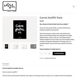 Carnet Graffiti Paris
