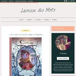 """""""Les carnets de Cerise 3."""" Neyret & Chamblain - Livresse des Mots"""