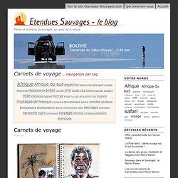 Etendues Sauvages - Le Blog