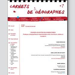 Carnets de géographes