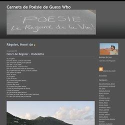 Régnier, Henri de