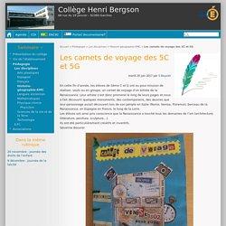 Les carnets de voyage des 5C et 5G - Collège Henri Bergson