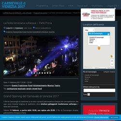 CARNEVALE di VENEZIA - sito ufficiale - La Festa Veneziana sull'acqua – Parte Prima