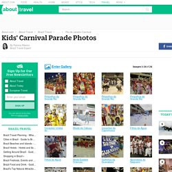 Kids' Carnival Parade Photos - Rio de Janeiro, Brazil