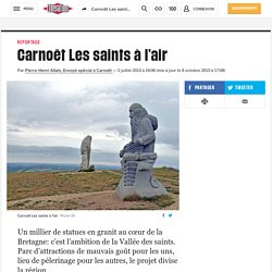 Carnoët Les saints à l'air
