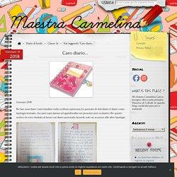 Caro diario… – Maestra Carmelina