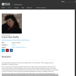Carol Ann Duffy - Literature