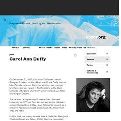 Carol Ann Duffy - Poet