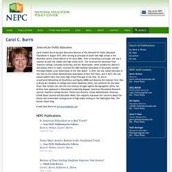 Carol C. Burris