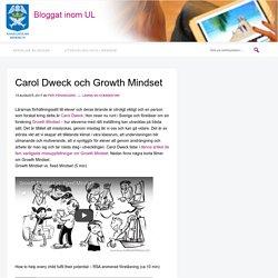Carol Dweck och Growth Mindset
