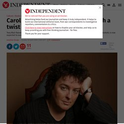 Carol Ann Duffy: A poet laureate with a twist