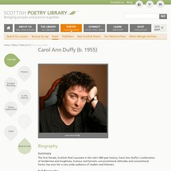 Carol Ann Duffy | Poetry | Scottish Poetry Library