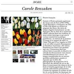 Carole Benzaken - Archives of Women Artists, Research and Exhibitions