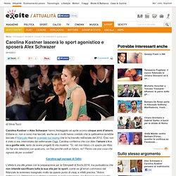 Carolina Kostner lascerà lo sport agonistico e sposerà Alex Schwazer