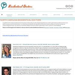 North Carolina Bioidentical Doctors
