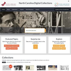 North Carolina Digital Collections