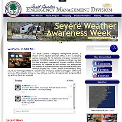 South Carolina Emergency Management Division - Home
