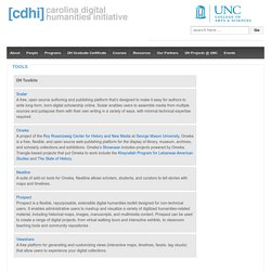 Carolina Digital Humanities Initiative