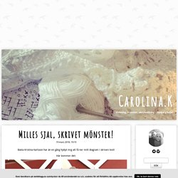Carolina.K - Milles sjal, skrivet mönster!
