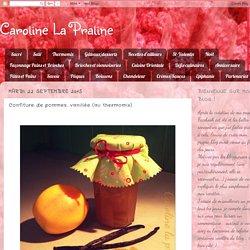 Confiture de pommes, vanillée (au thermomix)