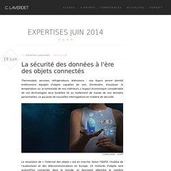 Caroline Laverdet - La sécurité des données à l'ère des objets connectés