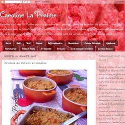 Caroline La Praline: Crumble de Potiron et Lardons