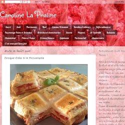 Croque-Cake à la Provençale