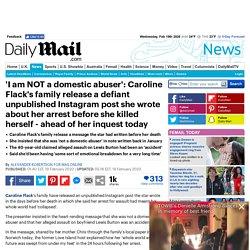 I am NOT a domestic abuser