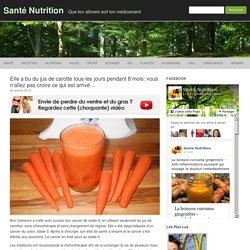 Elle a bu du jus de carotte tous les jours pendant 8 mois: vous n'allez pas croire ce qui est arrivé...