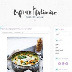 Soupe de Fanes de Carottes au Saint Môret®